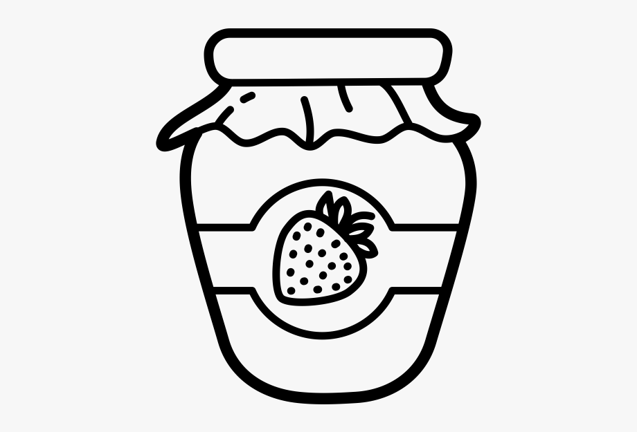 Jam Clipart Black And White, Cliparts & Cartoons.