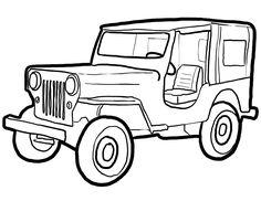 Jeep Clipart Black.