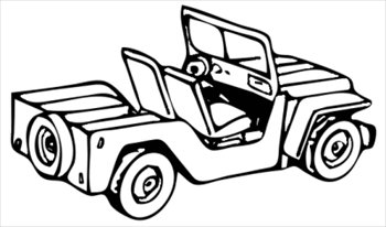 Free Jeep Clipart Black And White, Download Free Clip Art.