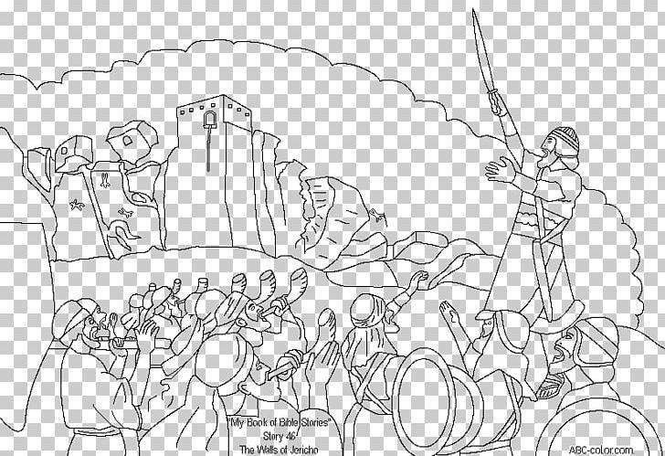 Wall Of Jericho Joshua & The Battle Of Jericho Bible PNG.