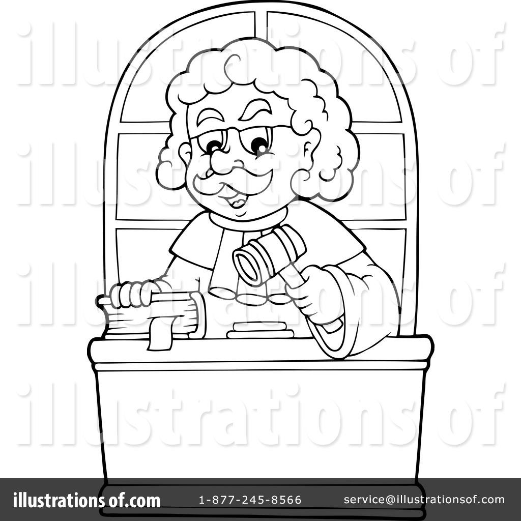 Judge Clipart #1201520.