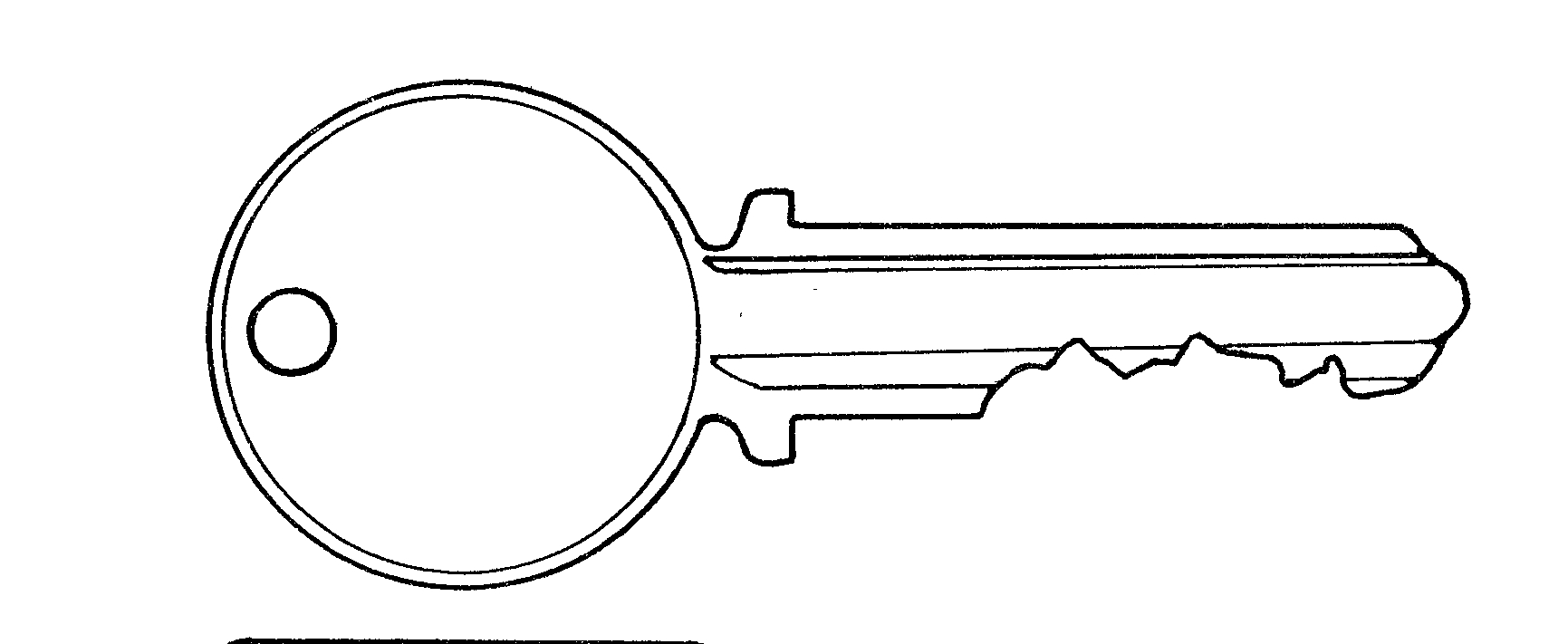 Free Key Black And White Clipart, Download Free Clip Art.