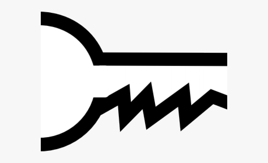 Key Clipart Black And White , Transparent Cartoon, Free.