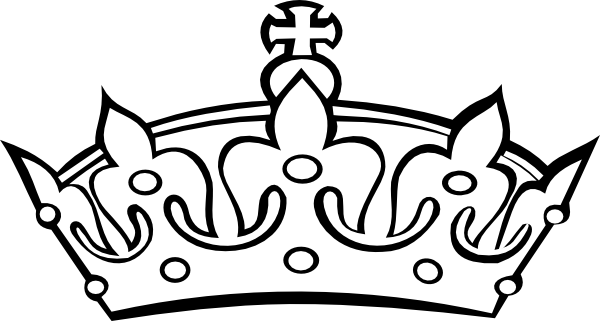 Princess Crown Clipart Black And White images.