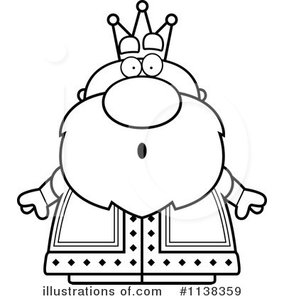 King Clipart Black And White Png.