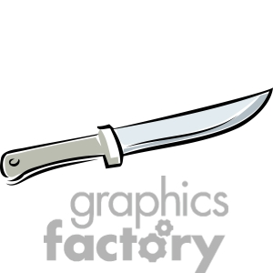 knife clipart. Royalty.