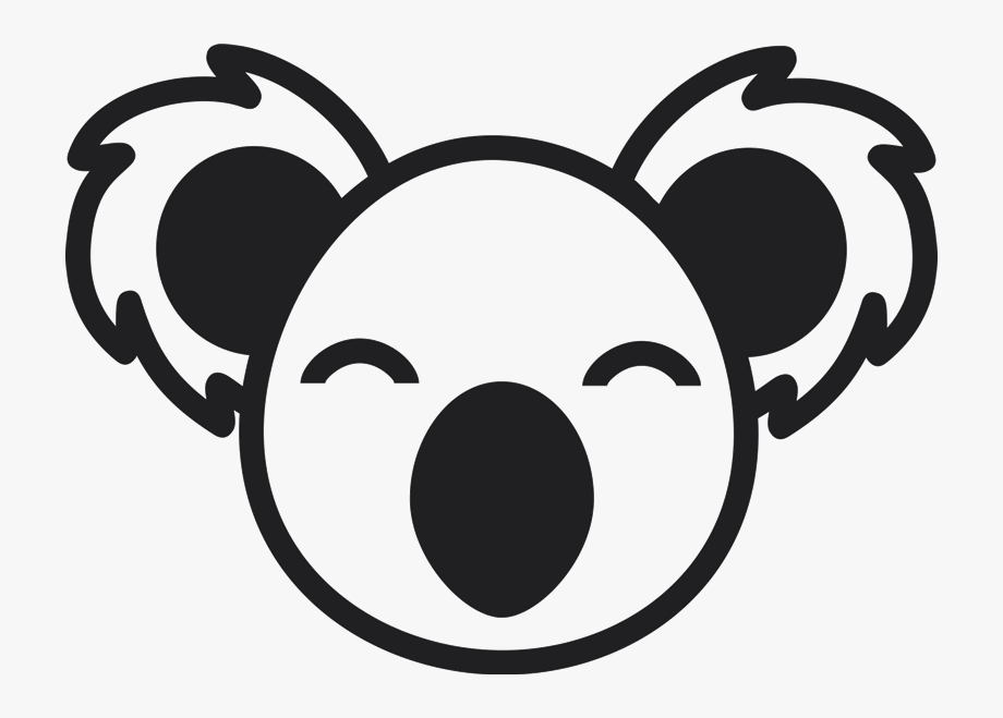 Koala Face Png , Transparent Cartoon, Free Cliparts.