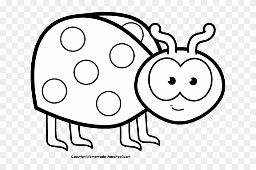 Ladybug Clipart Black And White Group (+), HD Clipart.