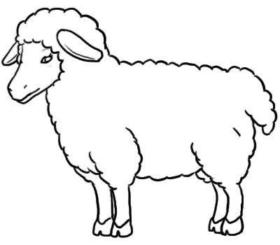 Free Sheep Black And White Clipart, Download Free Clip Art.