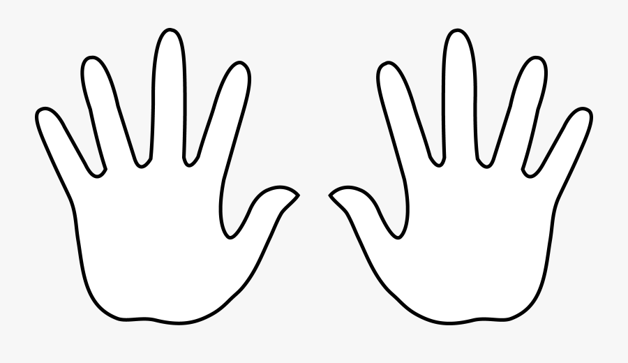 Right And Left Hand Clip Art.