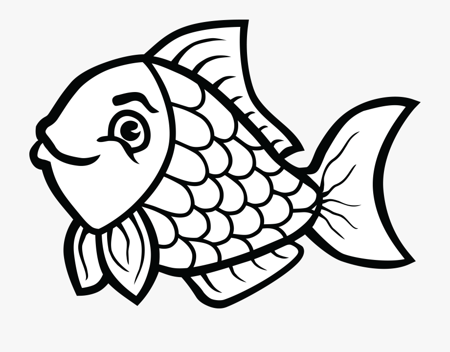 Fishing Clipart Black And White.