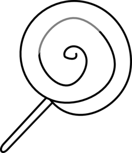 Free Lollipop Clipart Black And White, Download Free Clip.