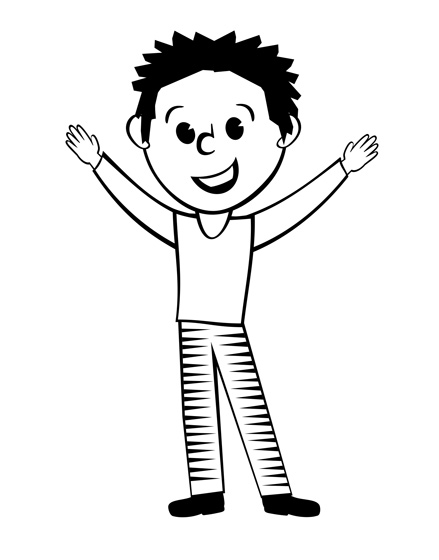 Free Cartoon Man Black And White, Download Free Clip Art.