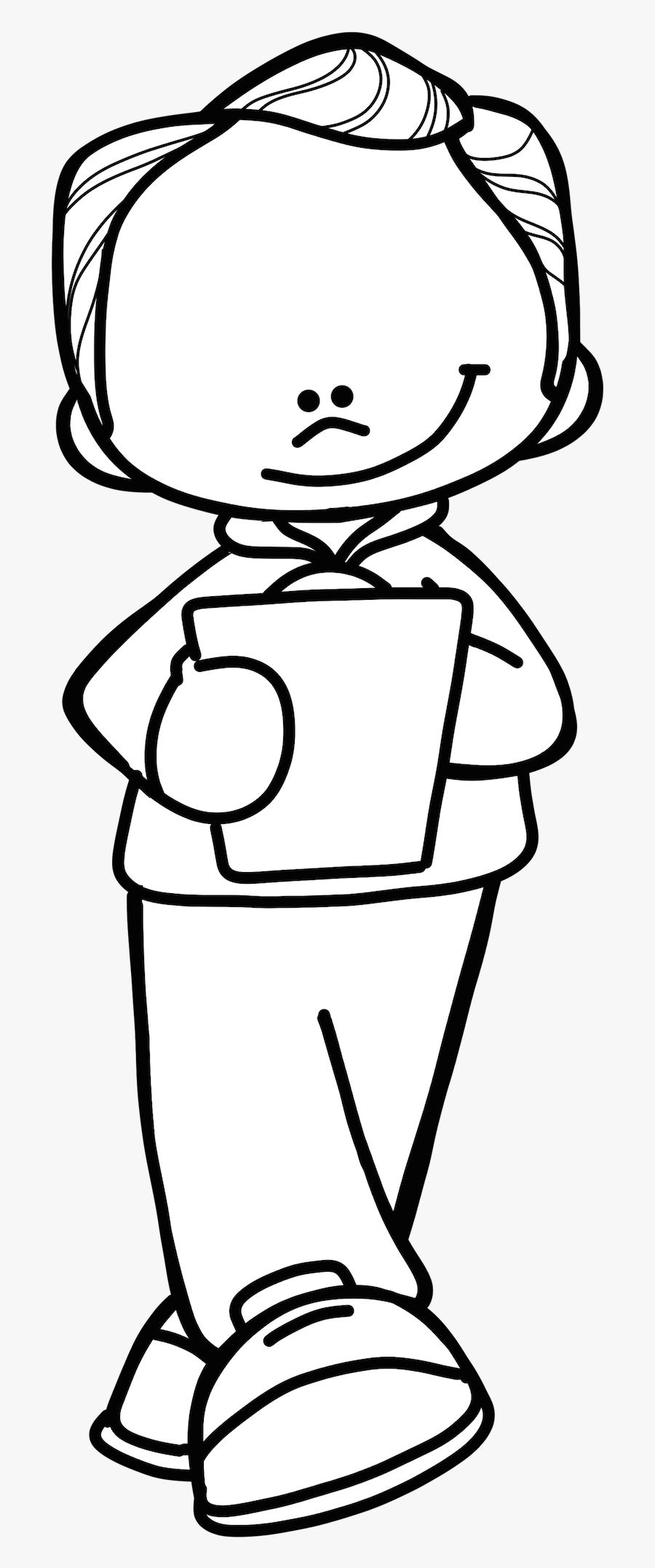 Male Teacher Melonheadz Clipart.