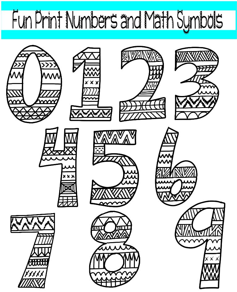 Math black and white black and white clipart math class.