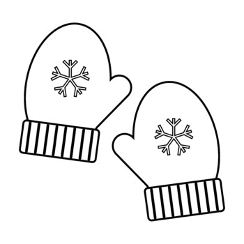 580 Mittens free clipart.