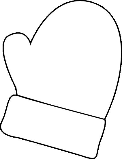 mittens clip art.