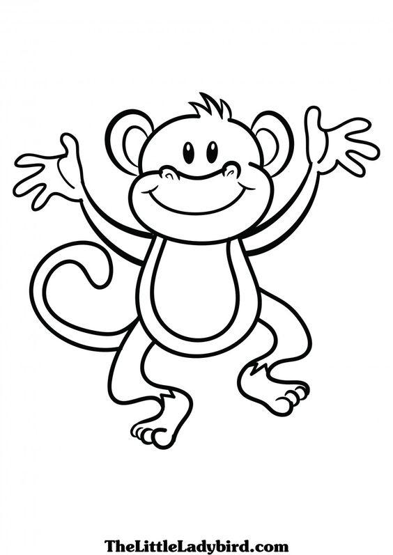 9120 Monkey free clipart.