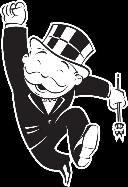 Mr Monopoly Mr Monopoly Hasbro Logo Monopoly Man.