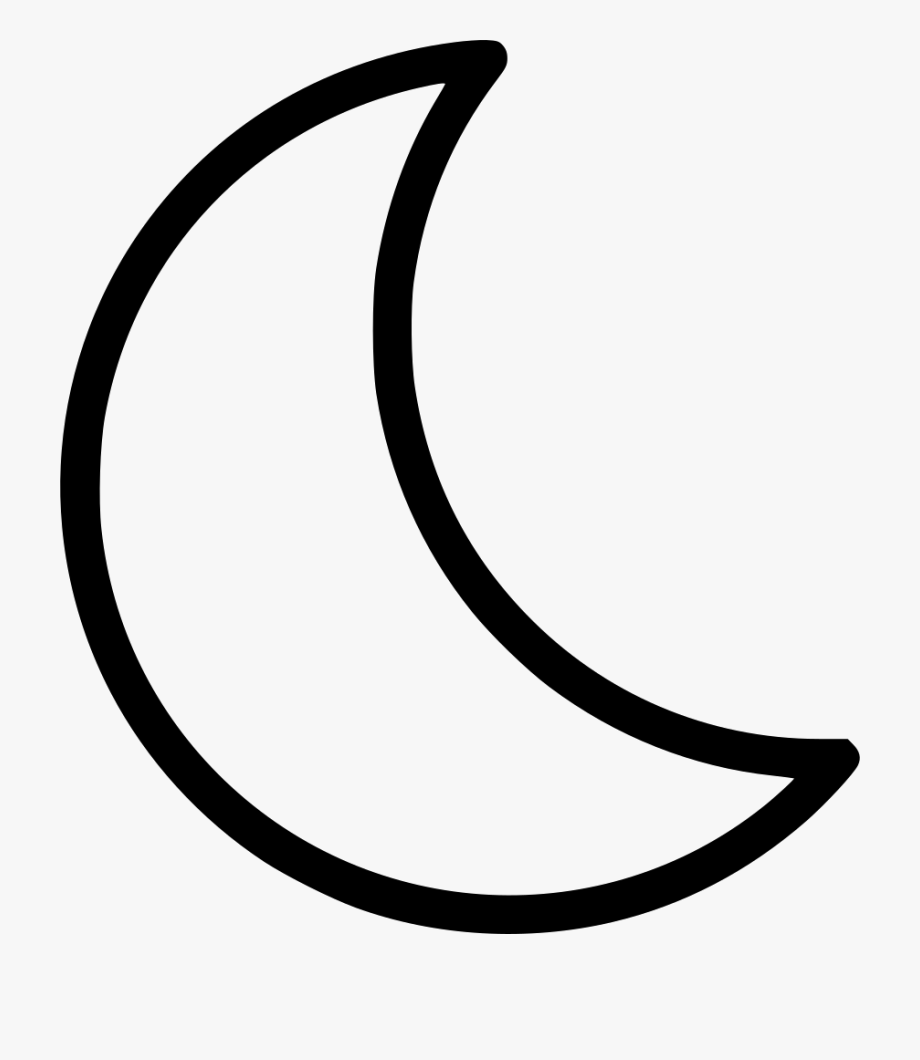 Moon Clipart Moon Clipart Black And White.