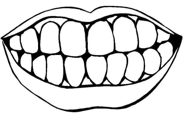 Clipart mouth colouring, Clipart mouth colouring Transparent.