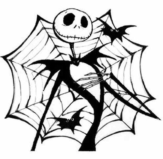 Free Nightmare Before Christmas Clipart Black And White.