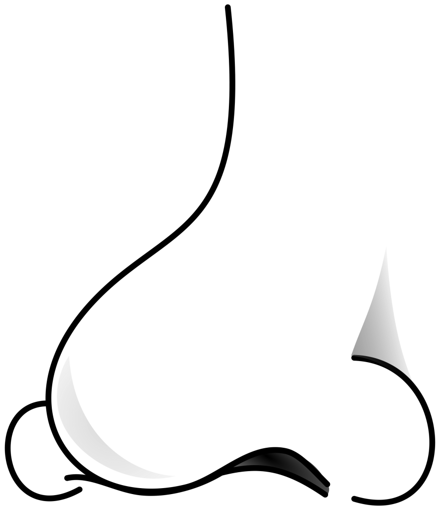 Free Clipart Nose Black And White, Download Free Clip Art.