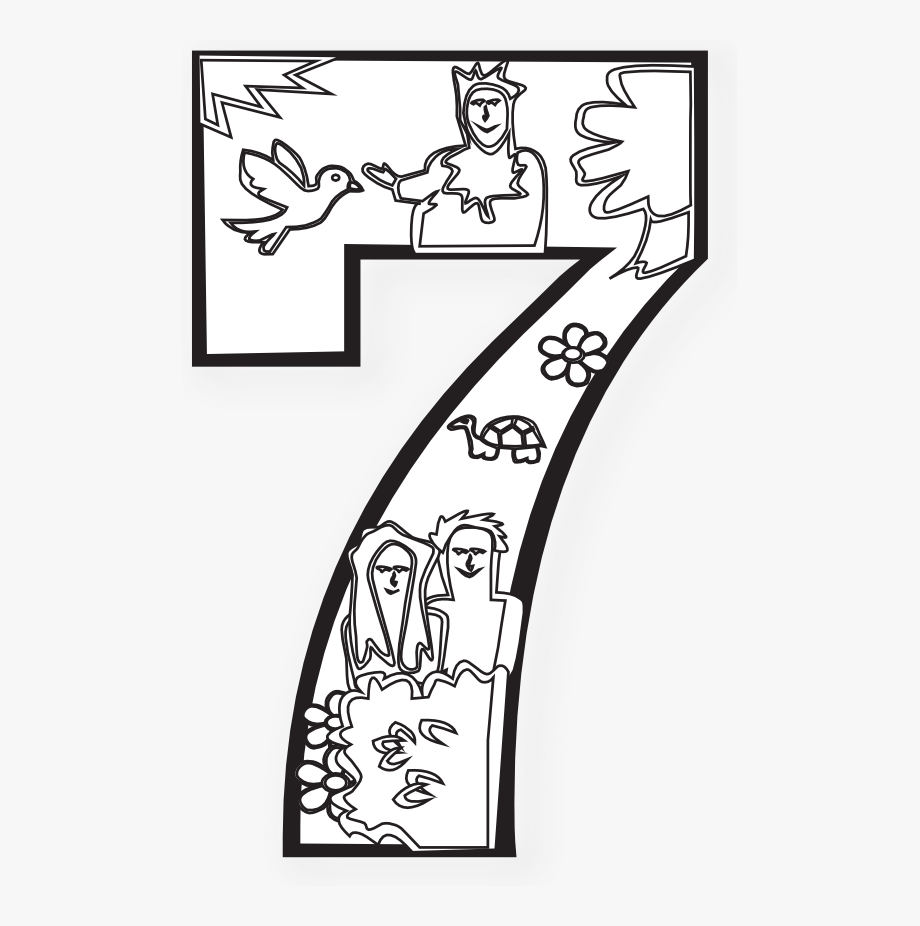 Number Clipart Day Creation.