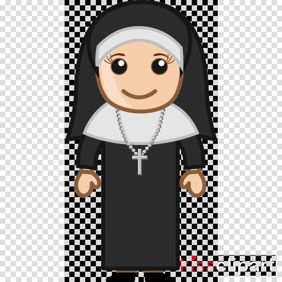 Cartoon Nun Png Clipart Nun Clip Art Transparent Png.