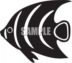 Fish Silhouette Graphics.