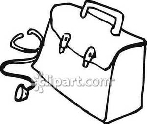 Doctor Tools Clipart Black And White.