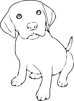 Dog Clipart Black And White & Dog Black And White Clip Art Images.
