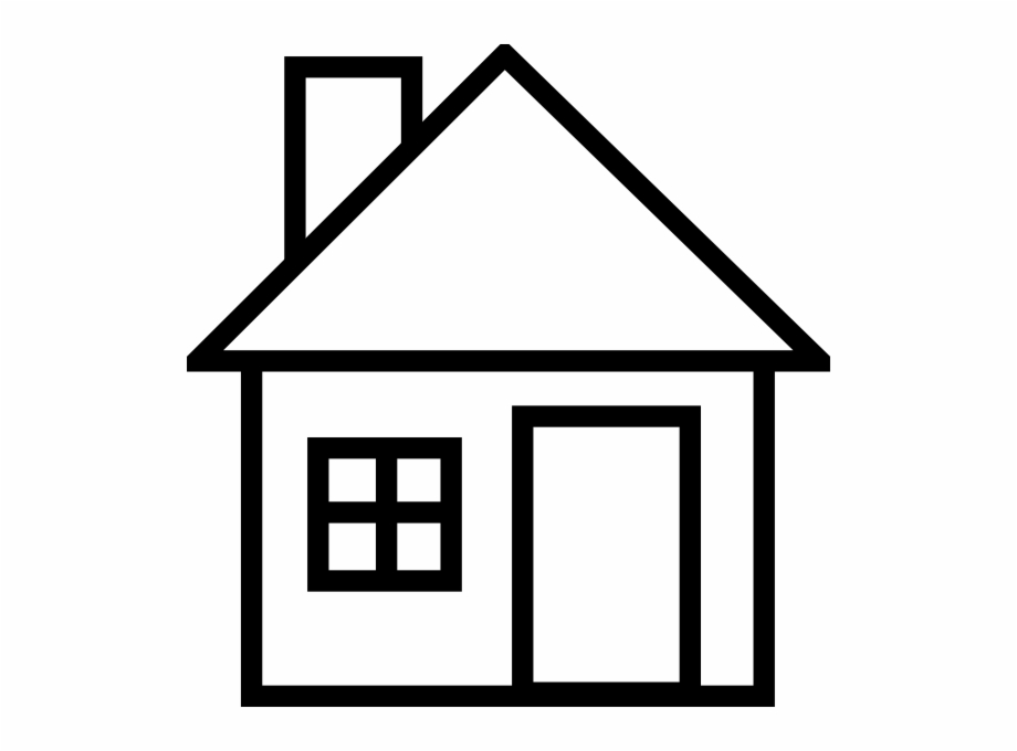 28 Collection Of House Clipart Black And White Png.