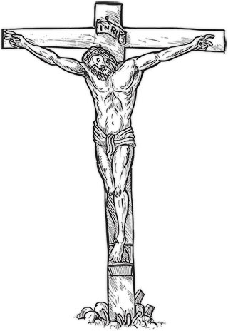 Jesus On The Cross Clipart Background.