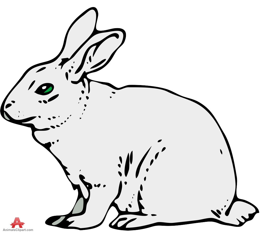 Bunny black and white bunny black and white rabbit clipart 2.