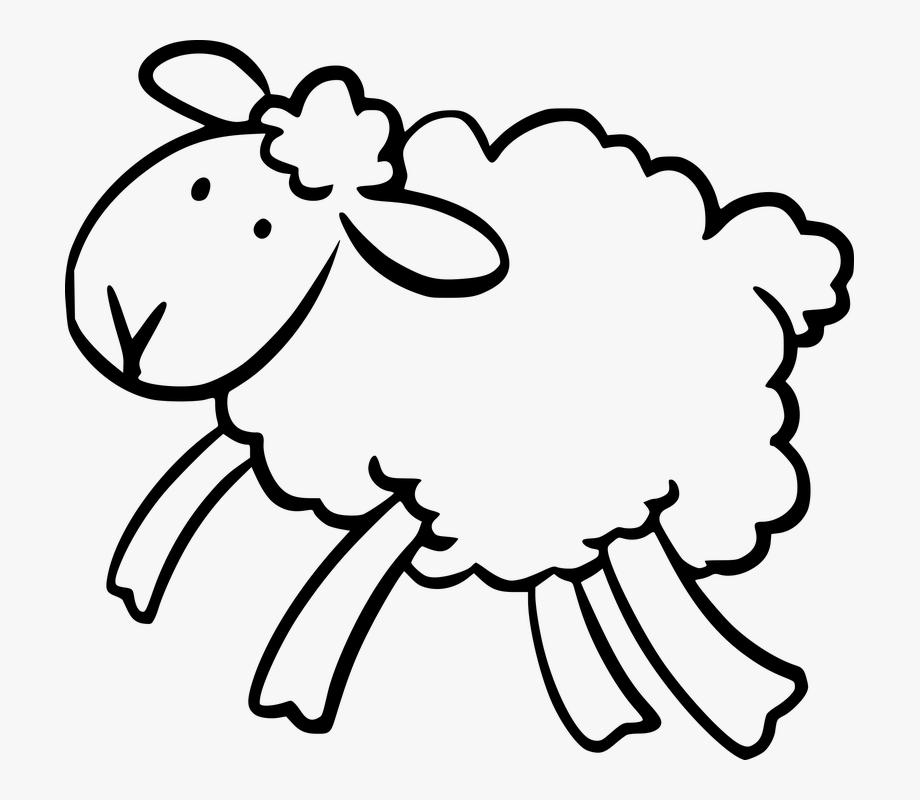 Animal Ears Head Jump Lamb Legs Soft White Wool.
