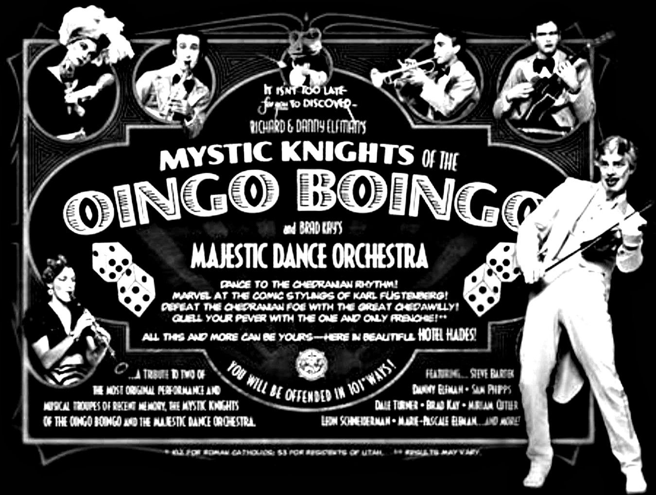 Image result for mystic knights of the oingo boingo.