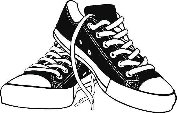 shoe clipart pair shoe pencil and in color shoe clipart.