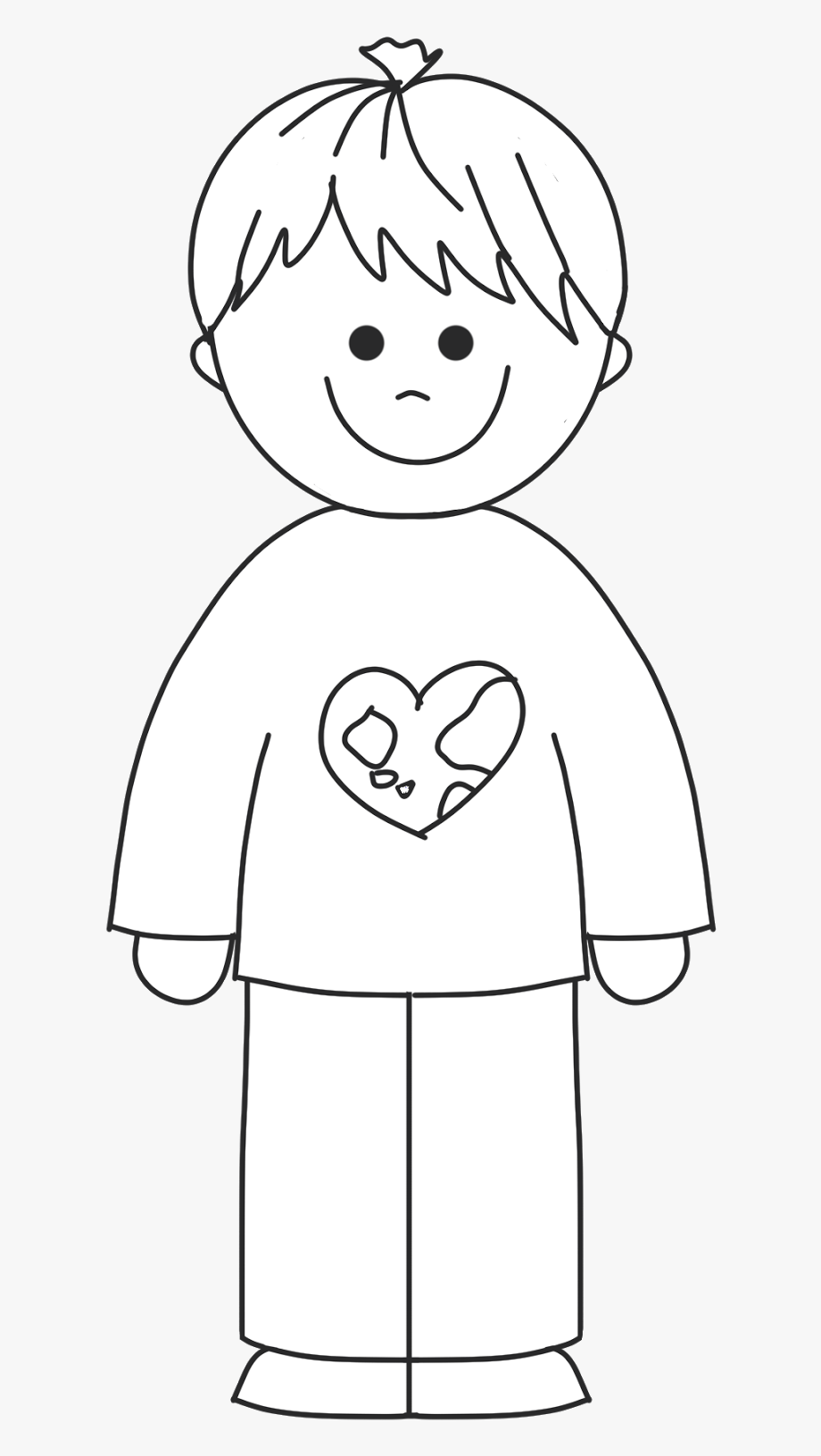 Pajamas Clipart Black And White.