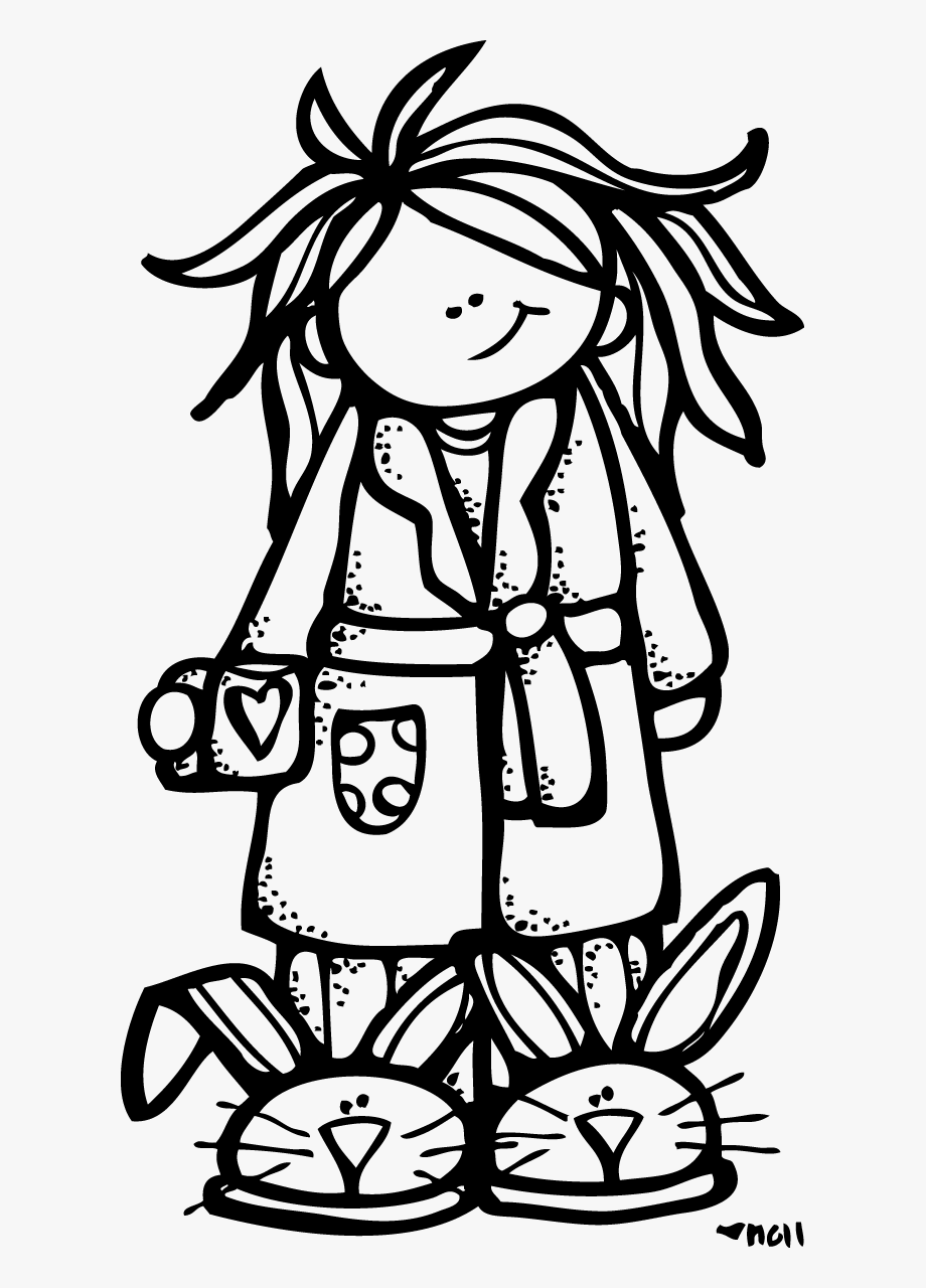 Pajama Clipart Black And White , Transparent Cartoon, Free.