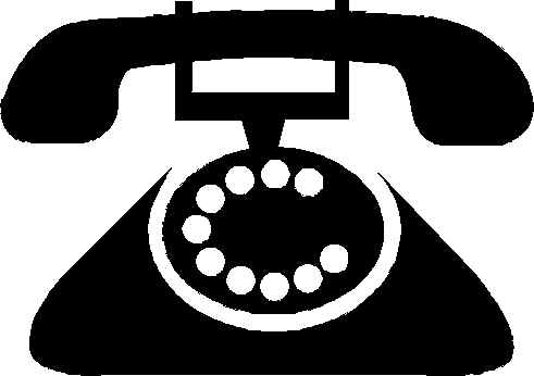 Free Black And White Phone Clipart, Download Free Clip Art.