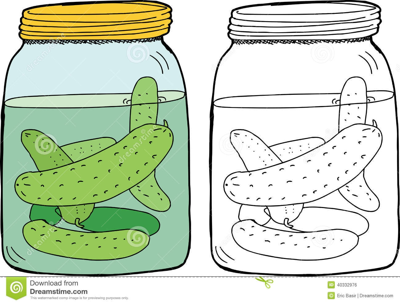 617 Pickle free clipart.