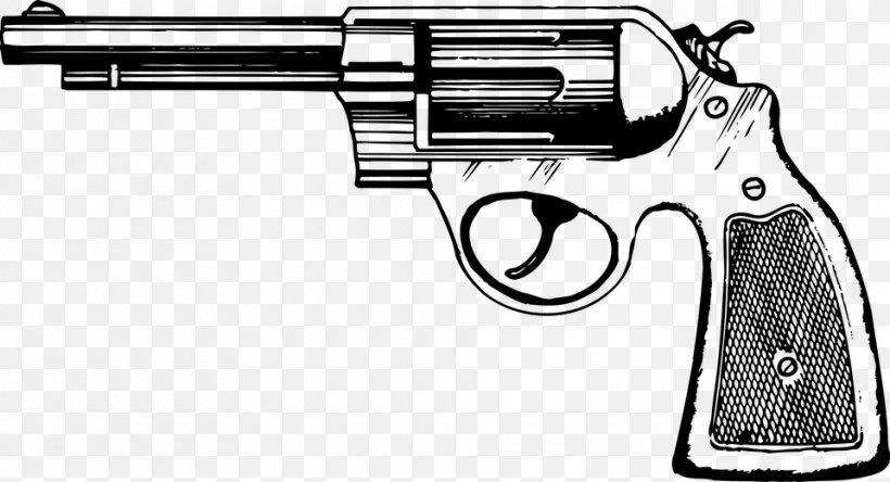 Revolver Clip Handgun Pistol Clip Art, PNG, 960x520px.