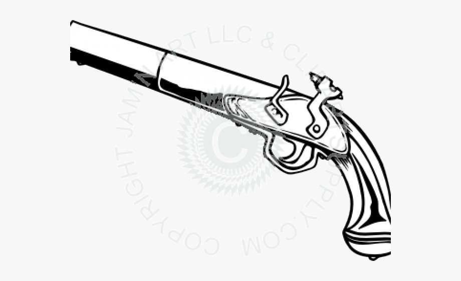 Pistol Clipart Pirate.