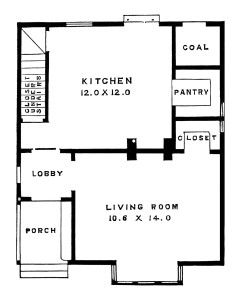 antique house illustration, black and white clipart.
