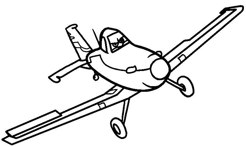 Planes Disney Clipart Black And White & #140294.
