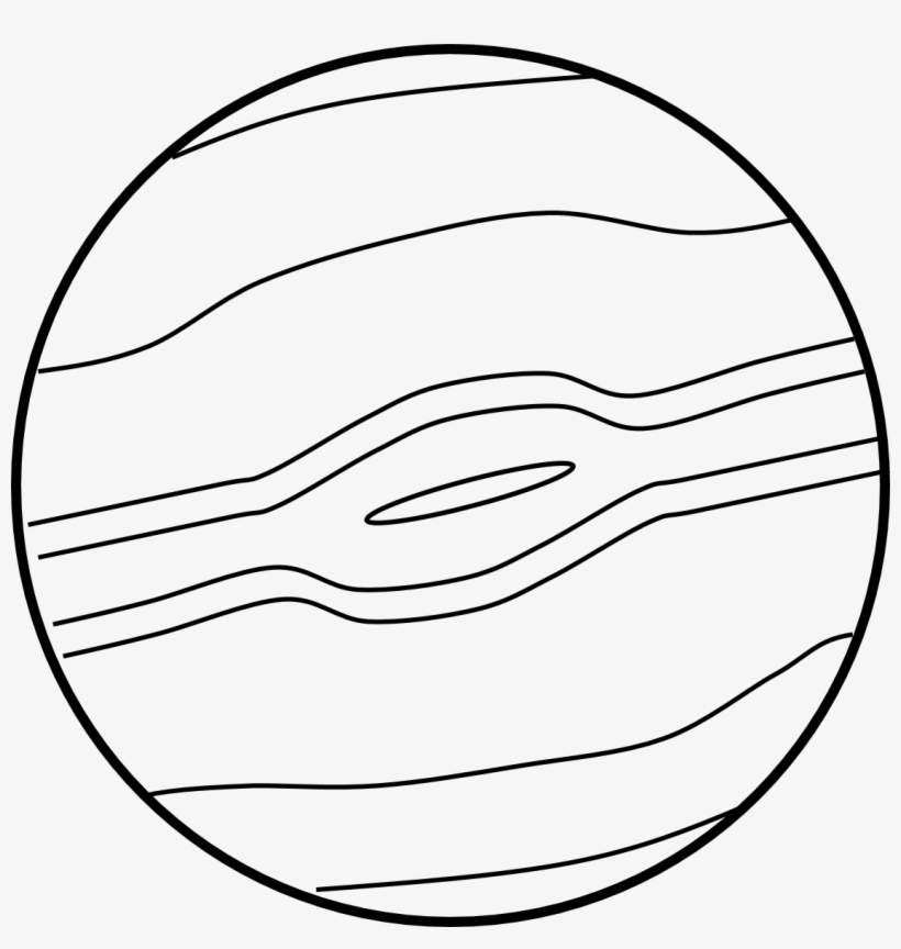 Space Clipart Planet Jupiter.