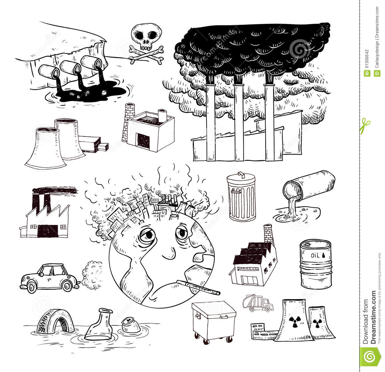 Air pollution clipart black and white 11 » Clipart Station.