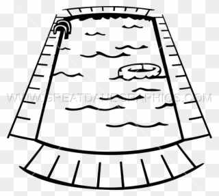 Free PNG Swimming Black And White Clip Art Download.