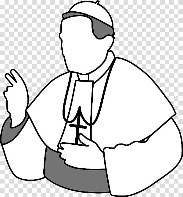 Pope Catholic Church , Priest Blessing transparent.